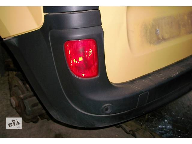 бу Б/у Бампер задний Renault Kangoo Рено Канго Кенго 2 2008-2012 в Луцке