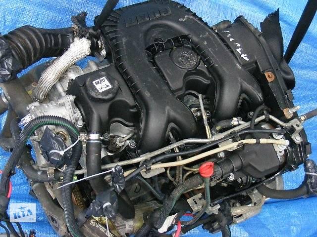 купить бу Б/у блок двигателя для легкового авто Fiat Doblo 1.9D в Луцке