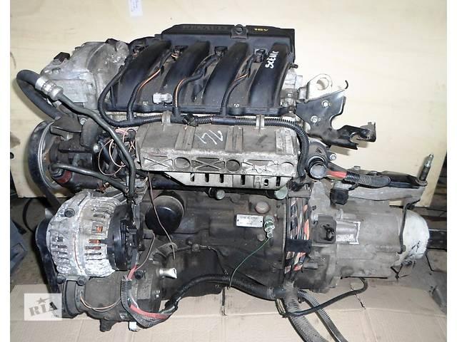 Б/у Блок двигателя Двигатель 1,6 16V бензин Рено Сценик Renault Scenic 2003- объявление о продаже  в Рожище