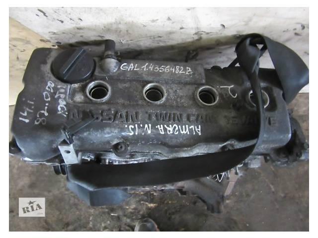Б/у блок двигуна для легкового авто Nissan Almera 1.4- объявление о продаже  в Ужгороде