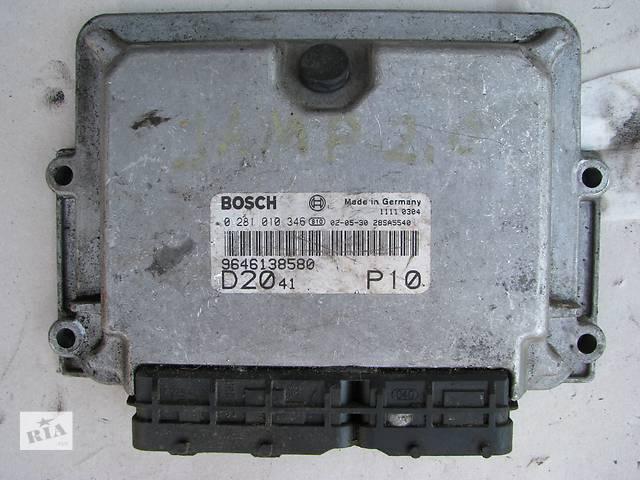 бу Б/у блок управления двигателем Citroen Jumper/Fiat Ducato/Peugeot Boxer 2.0HDi/JTD 2002-2006 в Броварах