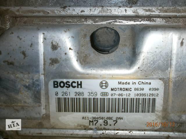 купить бу Б/у блок управления двигателем для седана Chery Amulet в Ужгороде