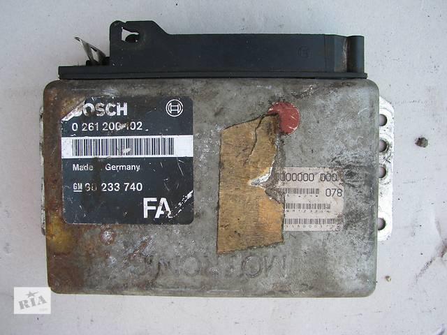 [Архив] Б/у блок управления двигателем Opel Omega A 2.0 20SE 1986-1987, GM 90233740FA, BOSCH 0261200102- объявление о продаже  в Броварах