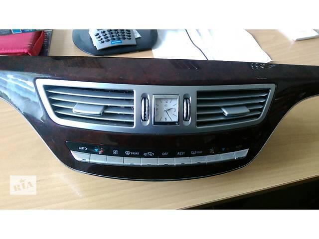 купить бу Б/у блок управления климатом для легкового авто Mercedes S221 в Киеве