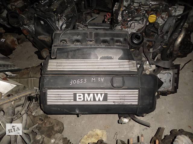 бу Б/у Двигатель BMW X5 3.0 бензин (E53) № M54 306S3 в Стрые