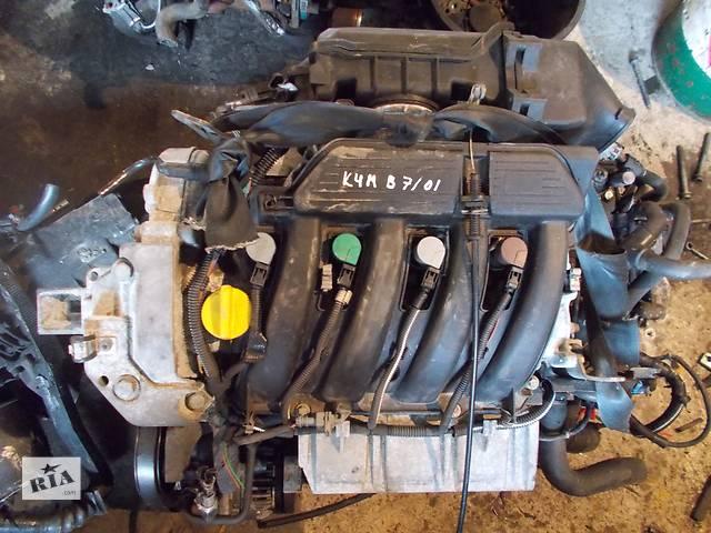 бу Б/у Двигатель Renault Laguna 1,6 бензин 16V № K4M B 7/01 в Стрые