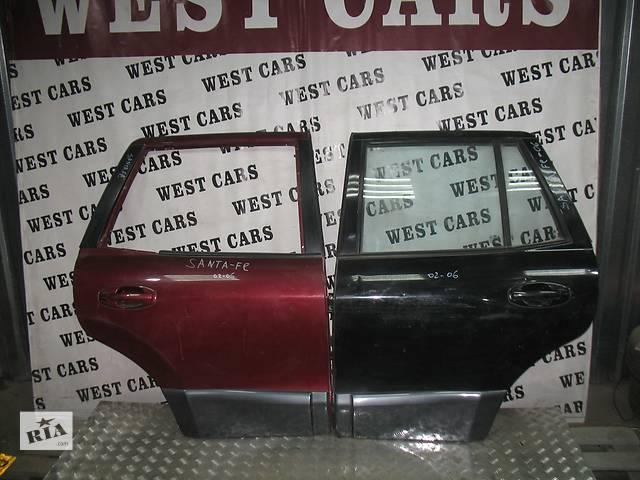 купить бу б/у Двери/багажник и компоненты Дверь задняя Легковой Hyundai Santa FE 2003 в Луцке