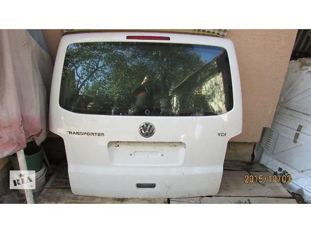 продам Б/у Дверь задняя для легкового авто Volkswagen T5 (Transporter) 2008 бу в Хусте