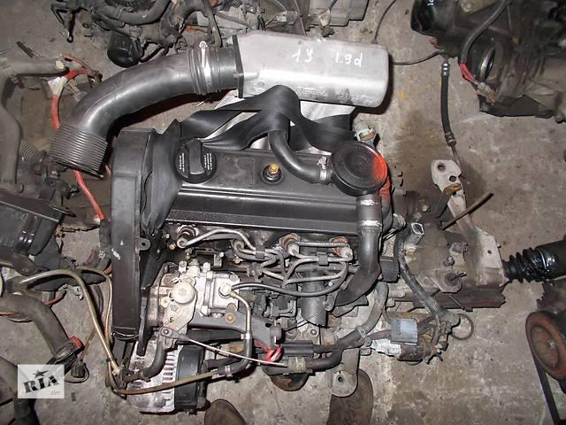 купить бу Б/у Двигатель Audi 80 1,9d № 1Y в Стрые