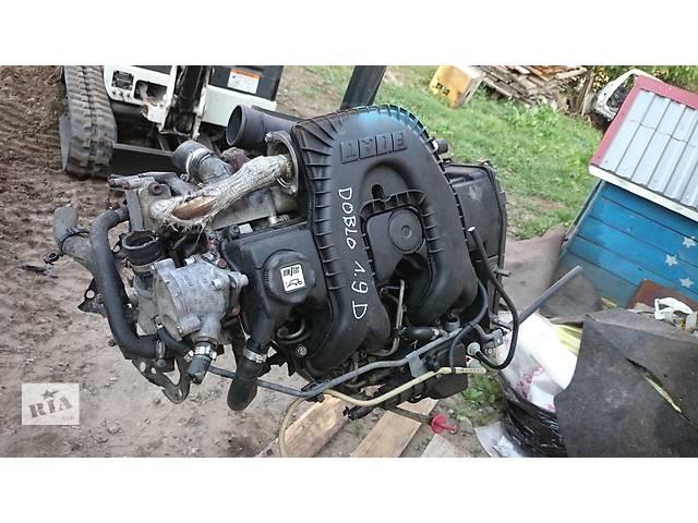 купить бу Б/у двигатель для легкового авто Fiat Doblo 1.9Дизель  в Львове