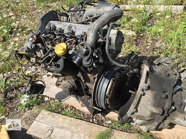 продам Б/у двигатель 1.9 для легкового авто(рено трафик меган сценик)Renault Scenic 2 бу в Ровно
