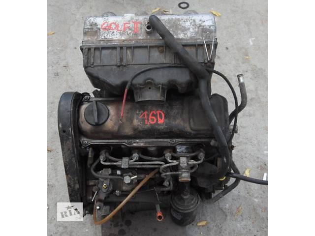 продам Б/у двигатель для легкового авто Volkswagen Golf II 1.6д-1,6тд бу в Луцке