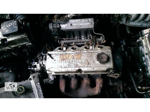 продам Б/у двигатель для седана Mitsubishi Galant 2.0 л. 16v бу в Житомире