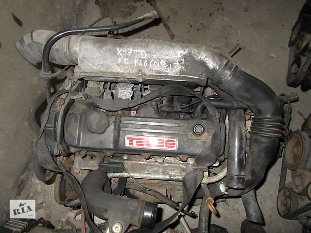 купить бу Б/у Двигатель Opel Vectra A 1,7td isuzu в Стрые
