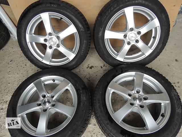 продам Б/у диск  DEZENT №2 R16 5x112 7j et40 Skoda Superb Octavia Mercedes Vito VW Golf бу в Львове