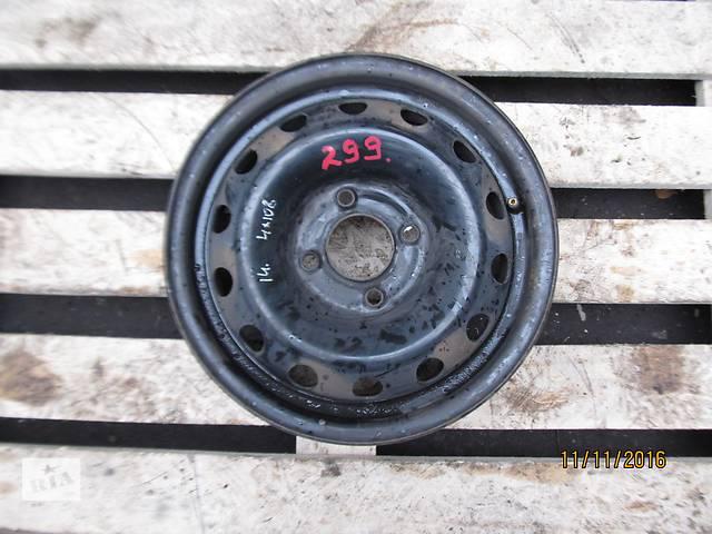 Б/у Диск колесный Peugeot Citroen R14  4x108 5.5Jx14CHB ET34- объявление о продаже  в Ровно