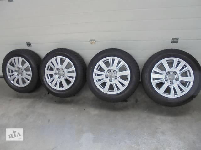 купить бу Б/у диск с шиной для легкового авто Audi A6 16 в Ужгороде