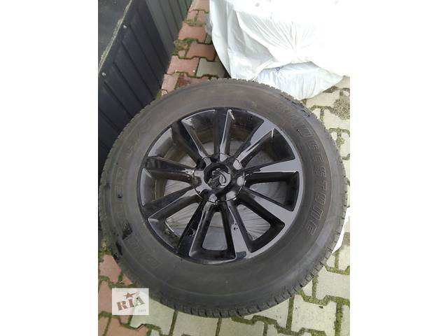 продам Б/у диск с шиной для легкового авто Диски R20 6x139.7 с резиной 275/60 R20 INFINITI QX56 NISSAN ARMA бу в Луцке