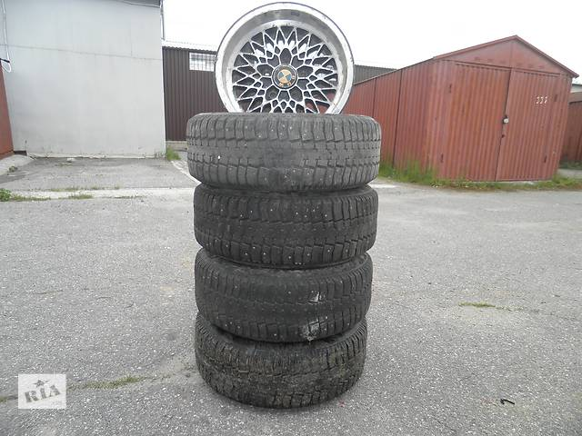 продам Б/у диск с шиной Pirelli 195x65x15 бу в Хмельницком
