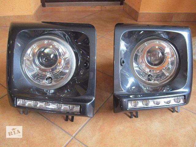 купить бу Б/у фара и лэды (lift, ристайл) для легкового авто Mercedes G-Class(463) 2012 в Хмельницком