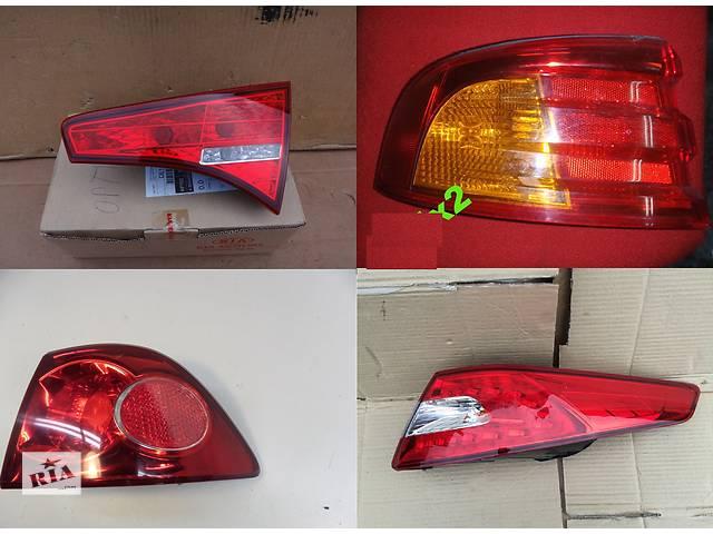 продам Б/у фонарь задний для легкового авто Kia Optima бу в Львове