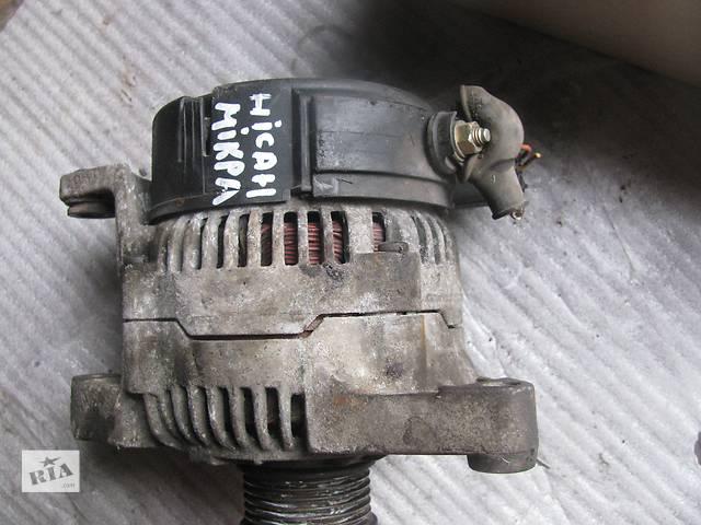 купить бу Б/у генератор/щетки для легкового авто Nissan Micra в Яворове (Львовской обл.)