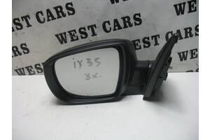Б/У  Зеркало боковое левое на 3 контакты новое IX35 876102S500. Лучшая цена!