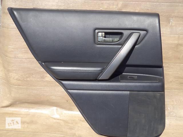 Б/у карта двери задняя левая 82901-CL70B для кроссовера Infiniti FX35 2007г- объявление о продаже  в Николаеве