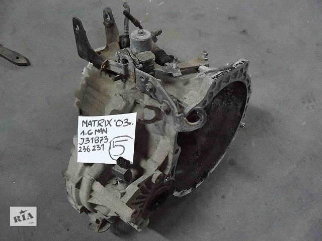 купить бу Б/у кпп для легкового авто Hyundai Matrix 1.6 J31873 в Львове