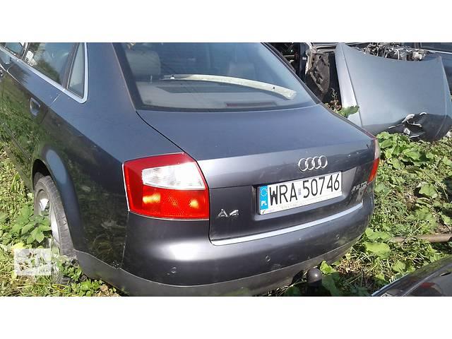 продам Б/у кришка багажника для легкового авто Audi A4 бу в Львове