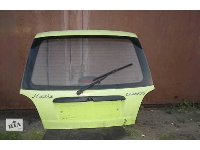 бу Б/у крышка багажника для легкового авто Daewoo Matiz в Львове