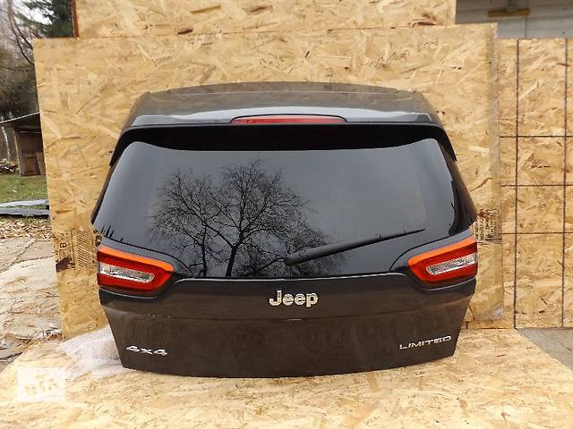 продам Б/у крышка багажника для легкового авто Jeep Cherokee бу в Львове