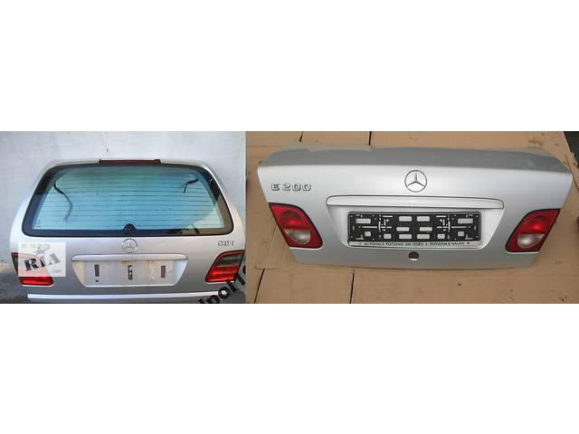 бу Б/у крышка багажника для легкового авто Mercedes E-Class w210 00-02 в Львове