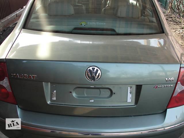 купить бу Б/у крышка багажника для легкового авто volkswagen passat b5 в наявності!! в Львове