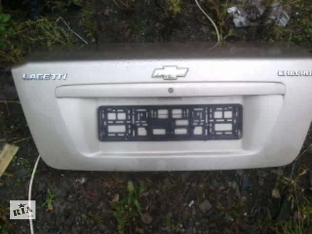 Б/у крышка багажника для седана Chevrolet Lacetti- объявление о продаже  в Ковеле