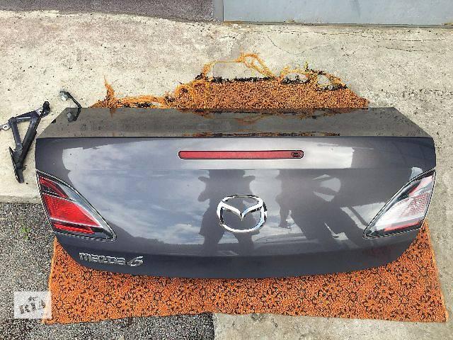 купить бу Б/у крышка багажника для седана Mazda 6 в Ровно