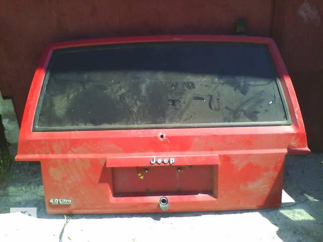 бу Б/у крышка багажника Jeep Cherokee 1991 в Броварах