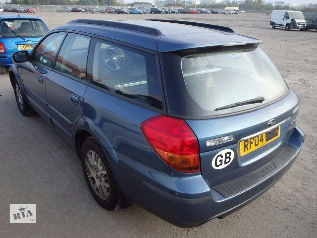 купить бу б/у Крышка багажника Хэтчбек Subaru Outback 2005 в Львове