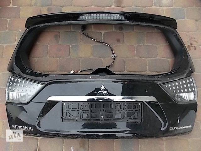 продам Б/у Крышка багажника Mitsubishi Outlander XL бу в Киеве