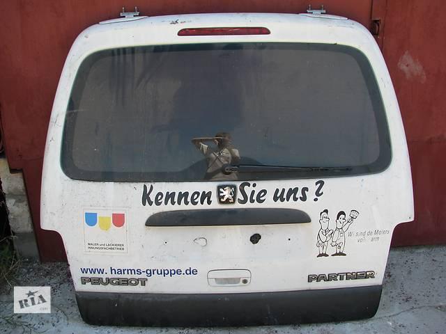 купить бу Б/у крышка багажника Peugeot Partner в Броварах