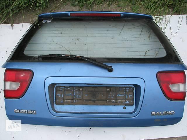 Б/у крышка багажника Suzuki Baleno Combi универсал- объявление о продаже  в Броварах