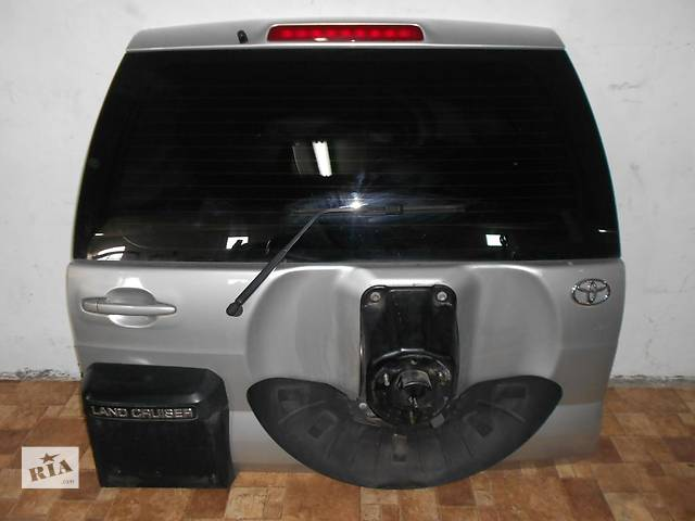 купить бу Б/у крышка багажника Toyota Land Cruiser Prado в Киеве