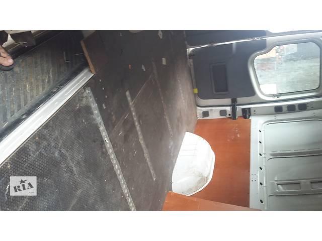 Б/у Пол Підлога в буду багажника Volkswagen Crafter Фольксваген Крафтер 2006-2010- объявление о продаже  в Луцке