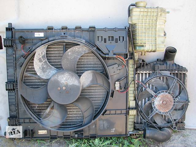 купить бу [Архив] Б/у радиатор интеркулера Mercedes Vito W638 110 CDI 2001 в Броварах