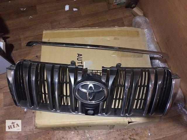 бу Б/у решётка радиатора для легкового авто Toyota Land Cruiser Prado 150 в Киеве
