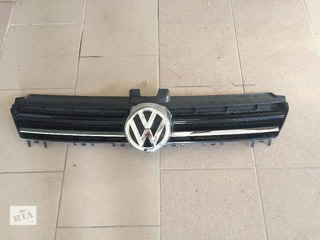 купить бу Б/у решётка радиатора для легкового авто Volkswagen Golf VII в Киеве
