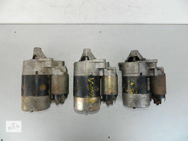 бу Б/у стартер/бендикс/щетки для легкового авто Renault Sandero 1.4,1.6 2008г. в Киеве
