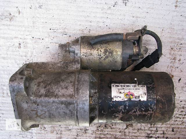 купить бу [Архив] Б/у стартер Mazda 323 BF/BW 1.7D, 0986015391 в Броварах