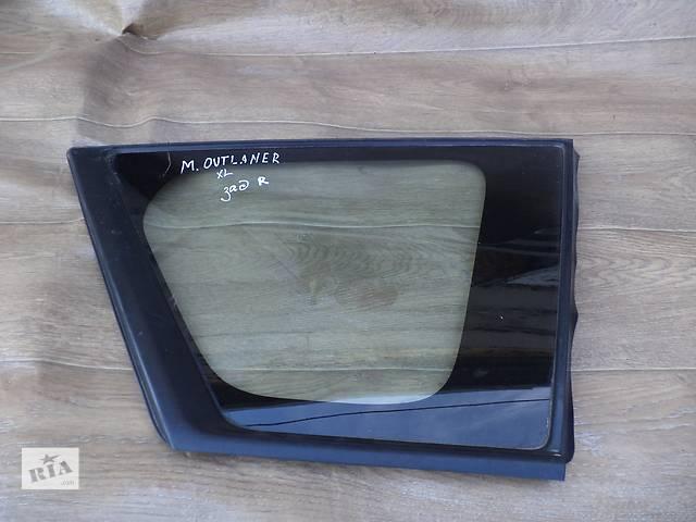 бу Б/у стекло в кузов заднее правое для кроссовера Mitsubishi Outlander XL в Николаеве