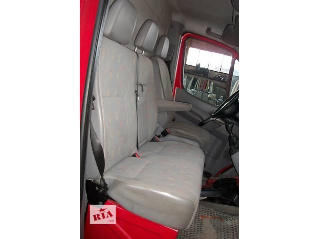 бу Б/у Сиденье 2й-ка пасс. Volkswagen Crafter Фольксваген Крафтер 2.5 TDI 2006-2010 в Луцке